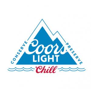 Coors Light Conserve Preserve Chill